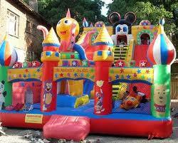 Satın al Büyük şişme oyun parkı grupları