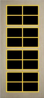 Satın al Doorpan Yüzey Panel Kapı Çıtaları