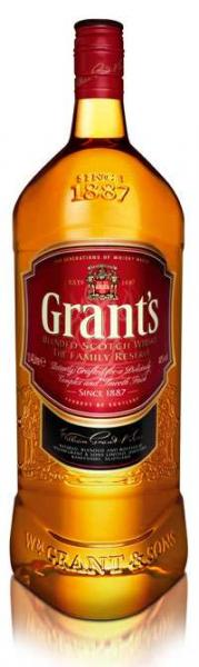 Grant's scotch whiskey