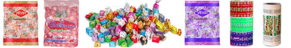 Satın almak Şeker, şekerleme ve sakız ambalaj