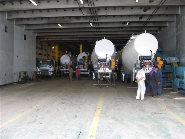 Buy Semitrailers for cement