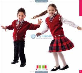 Uniforme scolaire en étoffe de laine
