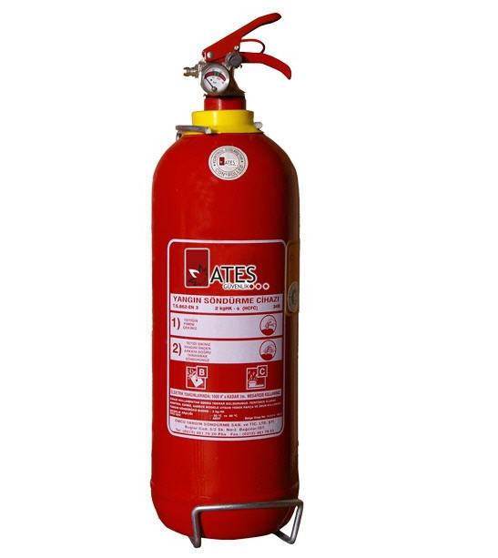 Satın al 2 kg tozlu yangın tüpü