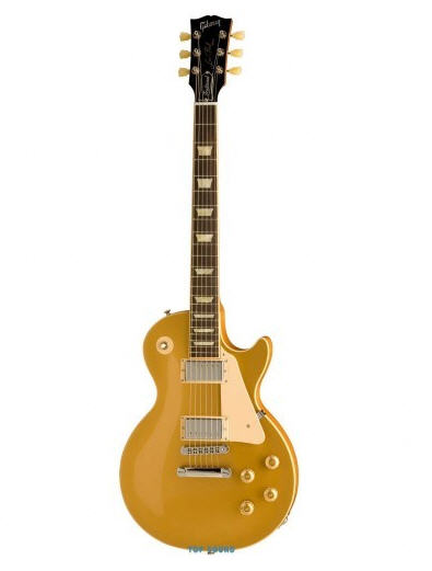 Gibson Les Paul Standard Traditional Solid Finish Gold Top Elektro Gitar