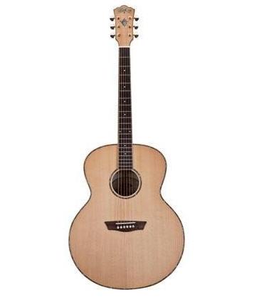 Satın al Washburn WJ-45S Jumbo Akustik Gitar-Kılıf Hediyeli