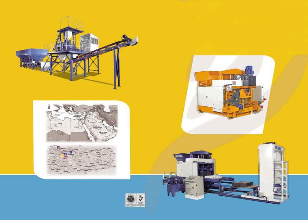 Satın al Concrete block machinery