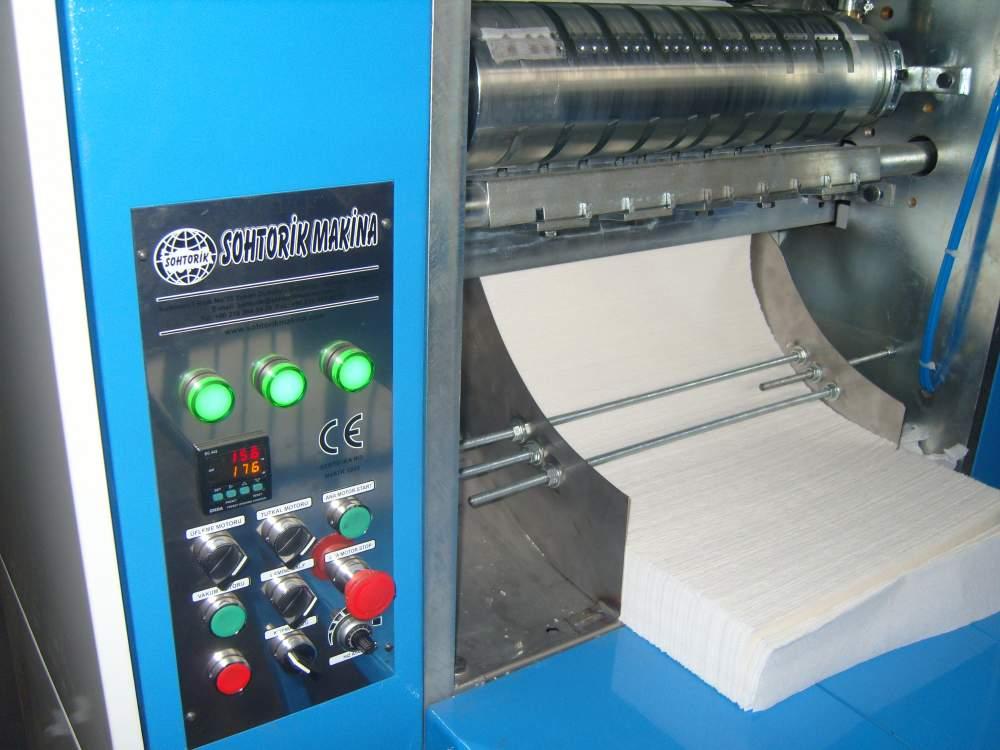 Z Katlamalı Havlu Makinesi