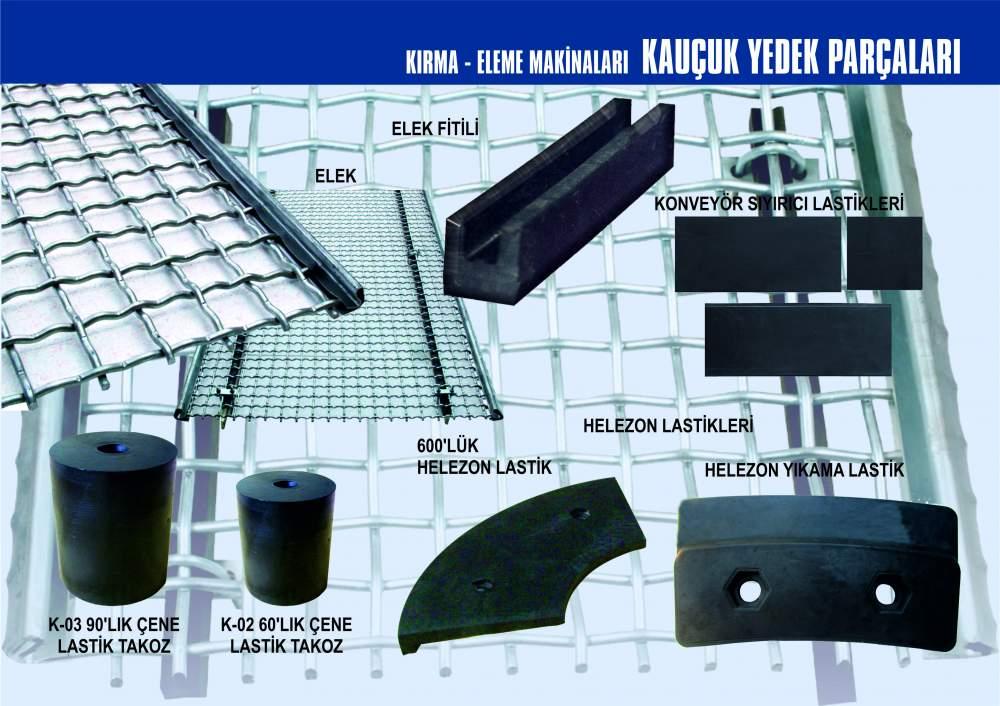 Satın al Kırma - Eleme Makinaları Kauçuk