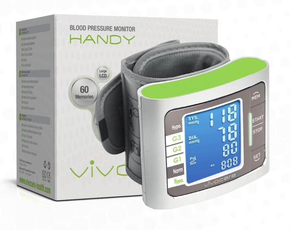 Buy HANDY BLOOD PRESSURE MONITOR (WRIST TYPE)