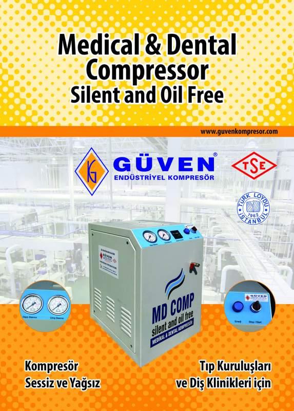 Satın al Sessiz kompresör-yağsiz kompresör