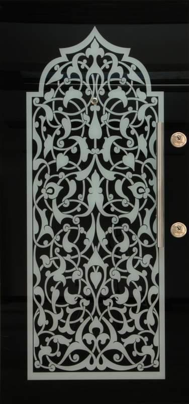 Satın al Turkarslan 04 CA tempered glass surfaced steel door