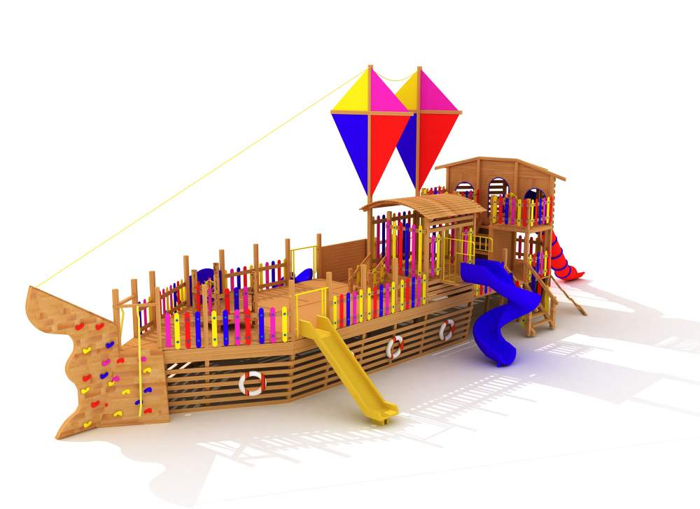 Satın al Gemi çocuk oyun parkı