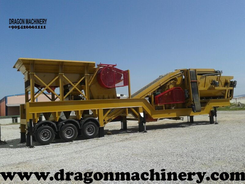 Satın al Mobile Crusher Plant Turbo 900