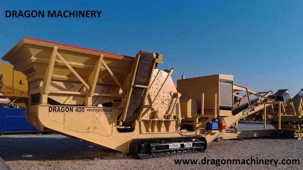 Track mounted Mobile Jaw Crusher DRAGON 1000 J