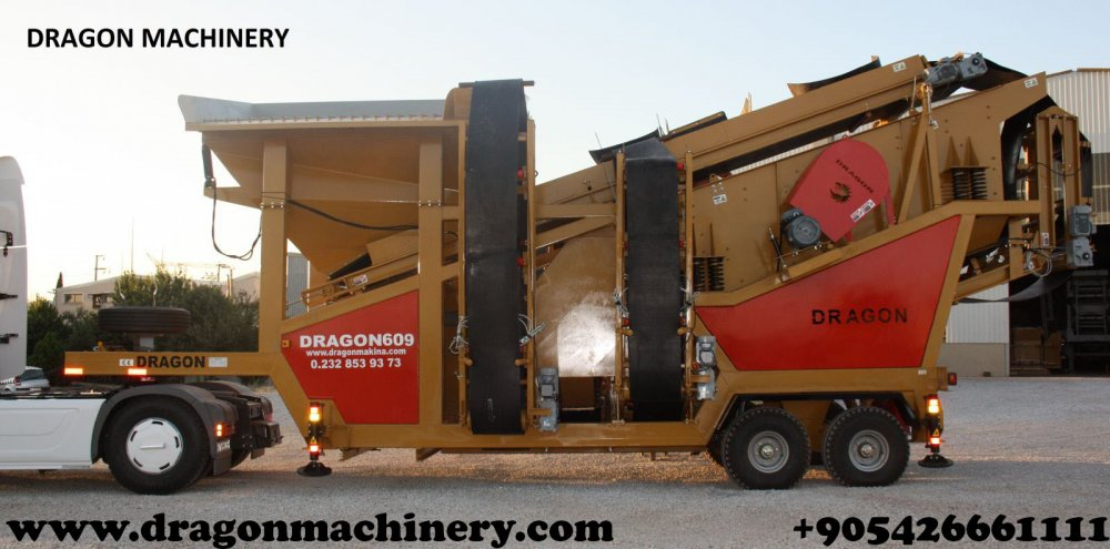 Satın al Mobile crushing plant dragon crushers New System