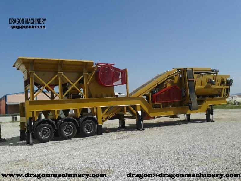 Satın al Unused Mobile Crushing and screening plant