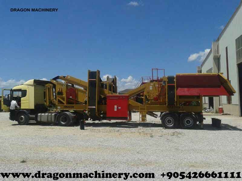Satın al Mobile Closed Circuit Crushing Plant – Dragon 7 – new technology
