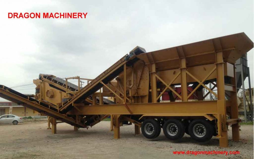 Satın al Mobile Closed Circuit Crushing Plant - Dragon 10-New-Technology