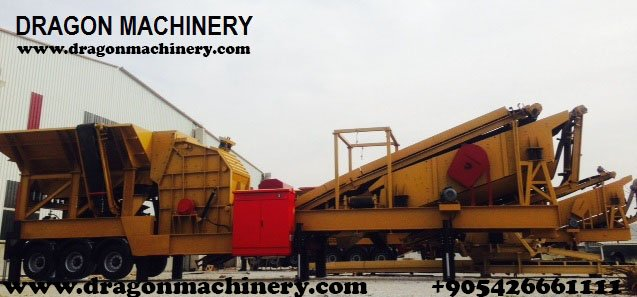 Satın al Mobile Closed Circuit Crushing Plant - Dragon 20-New-Technology
