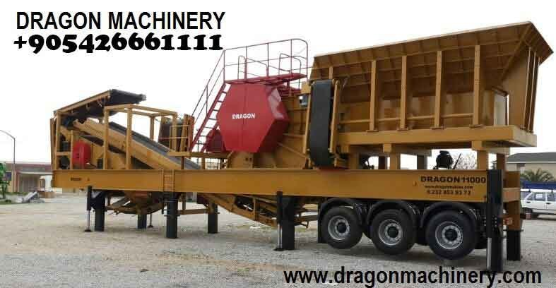 Satın al Mobile Primary Crushing And Screening Plant,Dragon 11000