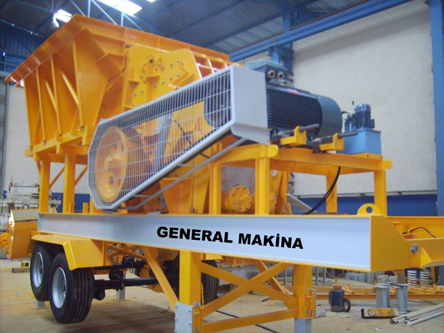Satın al Satılık konkasör tesisileri - General Makina