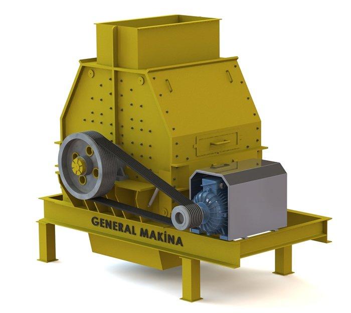 Satın al Satılık bazalt kırma eleme tesisi - General Makina