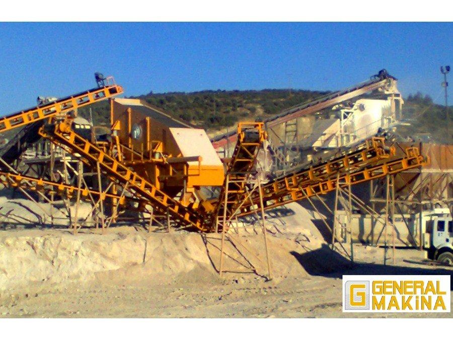 Satın al Satılık sabit taş kırma tesisi