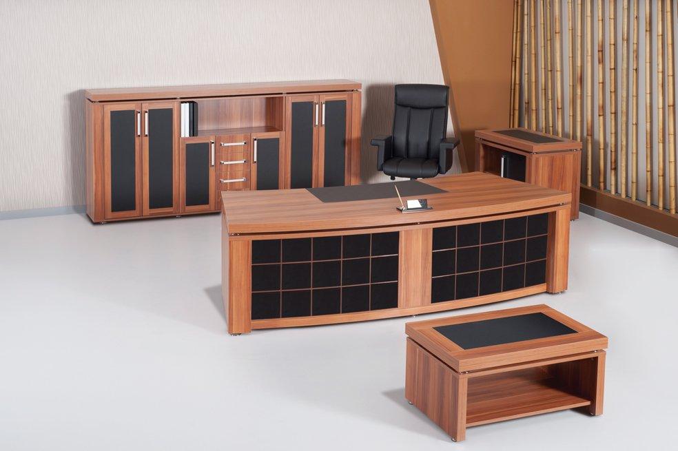 Satın al KING PREMIUM VIP MANAGER OFFICE TABLE SET