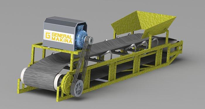 Satın al Özel Ölçü Konveyörbant Siparişleri Alınır - General Makina