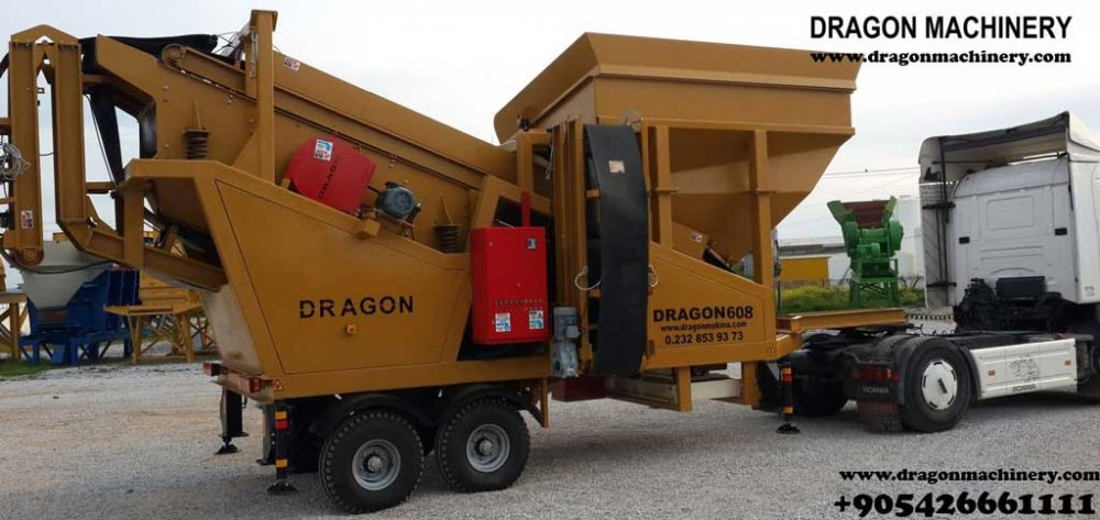 Mobile Screening Plants 608 dragon