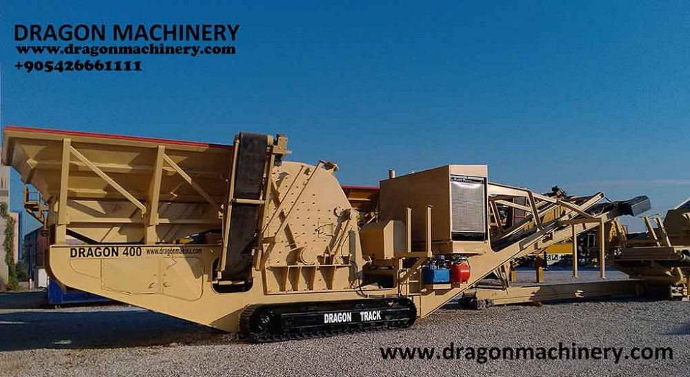 Unused Mobile Crushing and screening plant