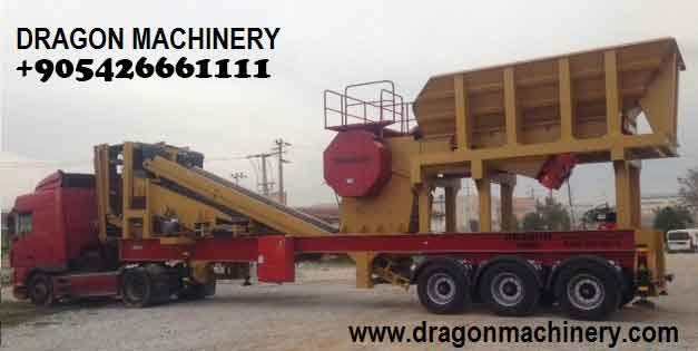 Satın al Mobile Primary Crushing And Screening Plant,Dragon 9000