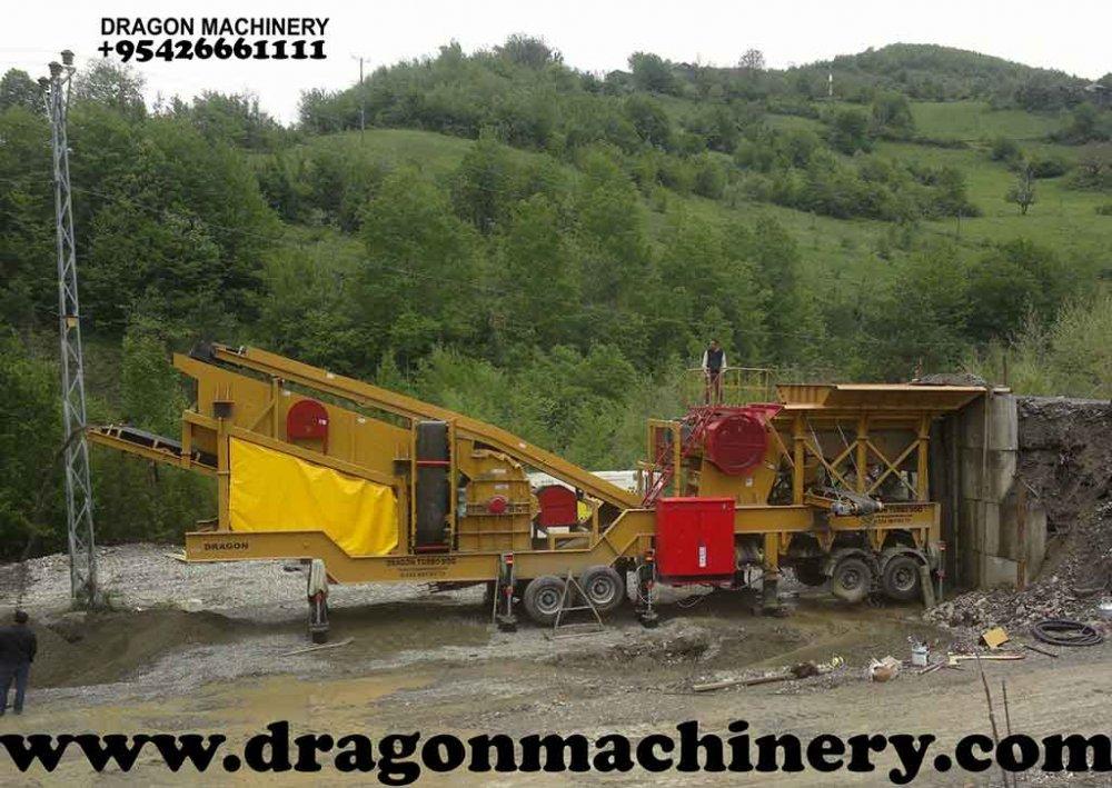 Satın al Mobile Crusher Plant Turbo dragon 950