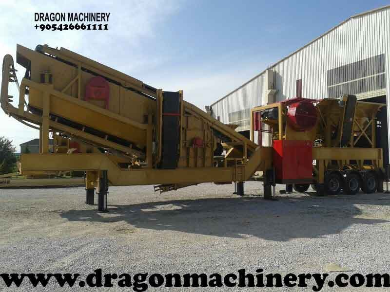 Satın al Mobile Crusher Plant Turbo dragon 900