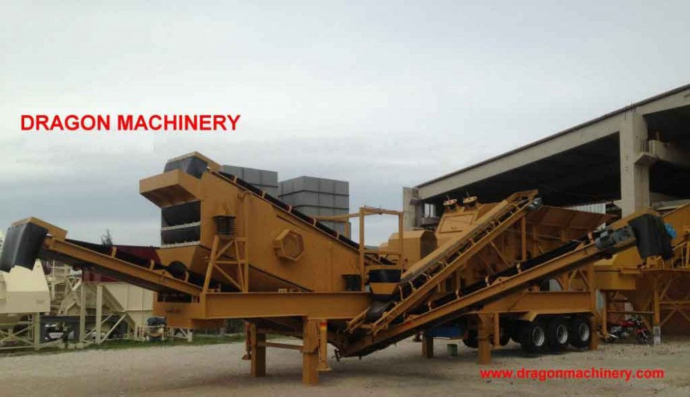 Satın al New Type Stone Crushing Plant Dragon Crusher type 9
