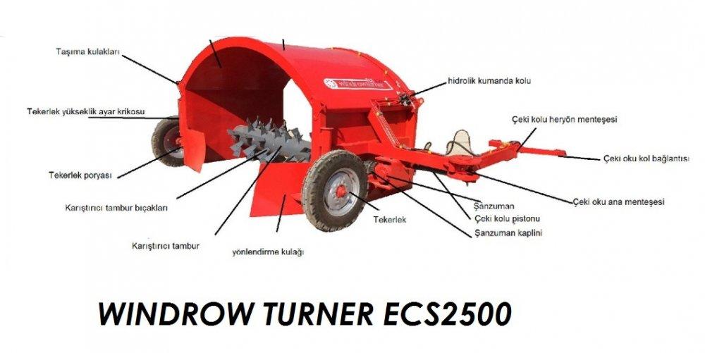 Satın al Kompost makinası windrowturner