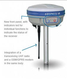 Satın al STONEX S8 Plus GNSS Cihazı