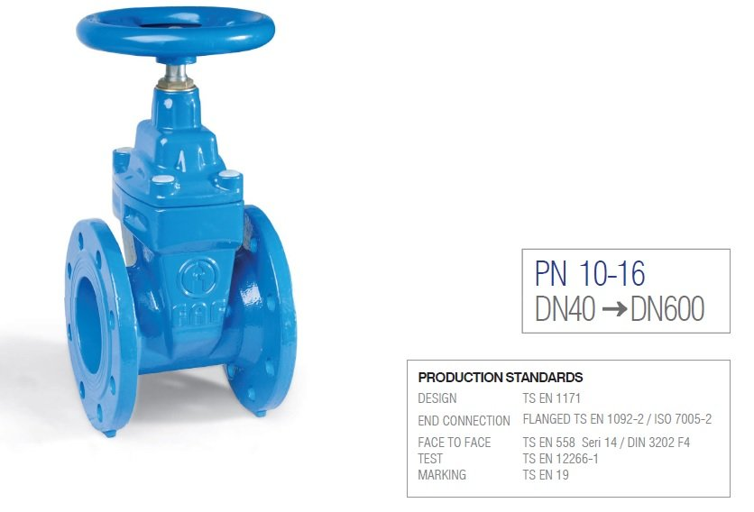 GATE VALVE / FAF6000 RESILIENT SEATED