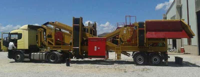 Satın al Aggregate Crusher Specialists sand maker Dragon 7