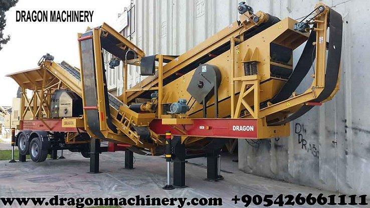 Satın al Manufacturer of Mobile Crusher Plant and sand maker for sale type 9