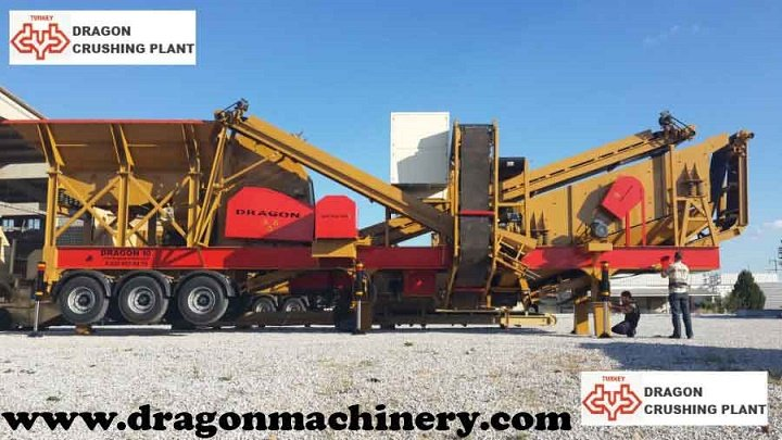 Jaw Crusher Plant sand maker Dragon 10 - New Technology