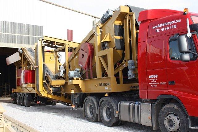 Satın al Aggregate Screening Equipment sand maker Dragon crusher Type 15