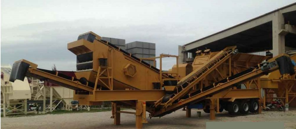 Satın al Mobile Closed Circuit Crushing Plant sand maker - Dragon 20-New-Technology