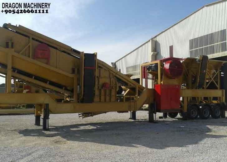 Satın al Unused Mobile Crushing and screening plant sand maker