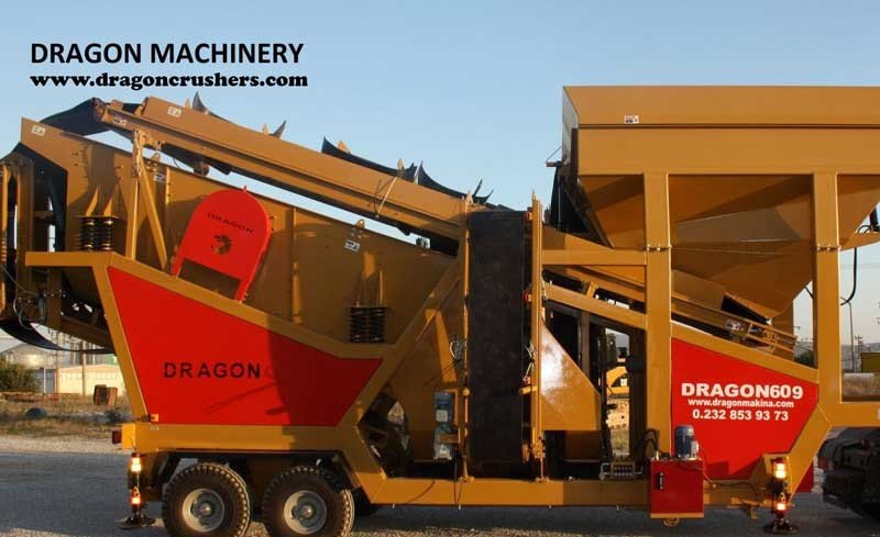 Mobile crushing plant dragon crushers New System 609 sand maker