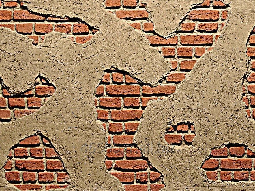 Beton Tuğla Duvar Görünümlü Fiber Panel M-2500 Wall Panel