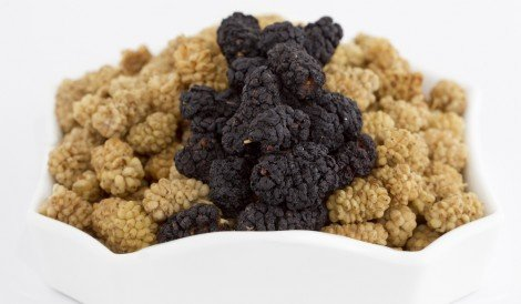 Organic Dried Mulberries
