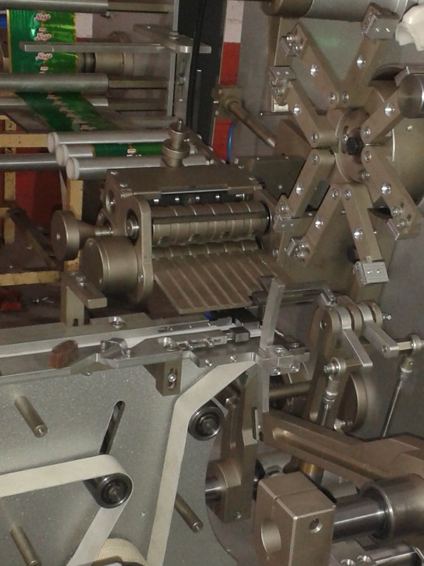 TRAPEZ MACHINERY CHOCOLATE INJECTION LINE with PACKING MACHINE