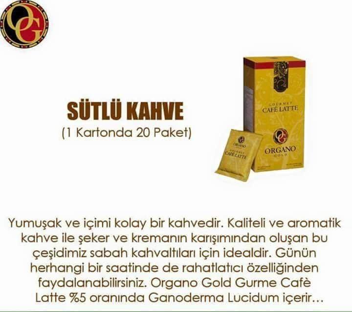 Satın al Cafe latte