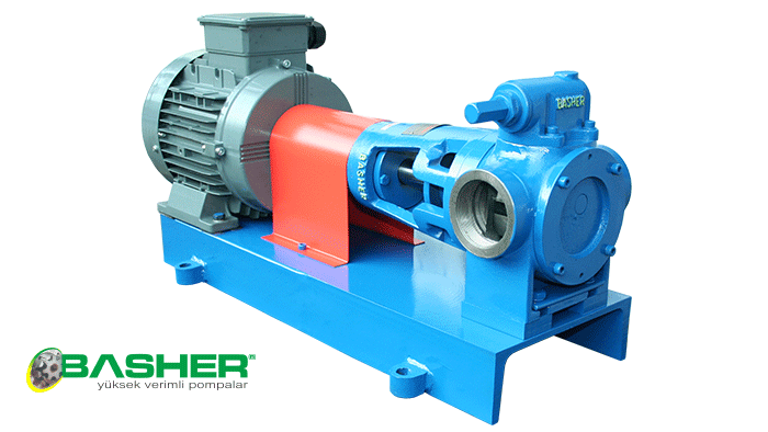 Satın al İnternal gear pump, Viscous liquid pumps, positive displacement pumps
